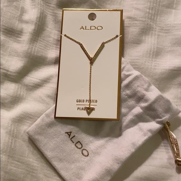 Aldo Jewelry - 14K Gold Plated Necklace